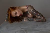 Glamour Portrait Beauty workshop with Yana Sinner by Neil Snape Beauty Portraits Inked Nu