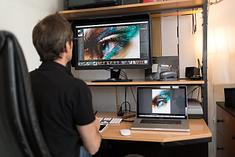 Remote Editing Lessons Formation Lightroom Photoshop à distance