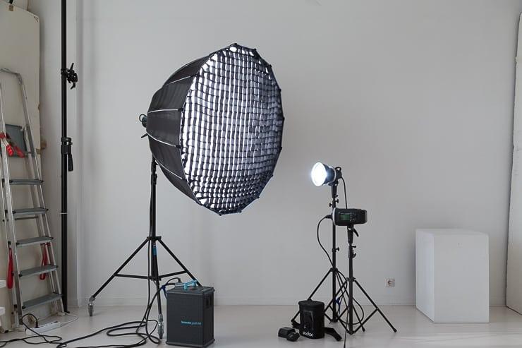 new equipment Para 120cm Godox AD600BM
