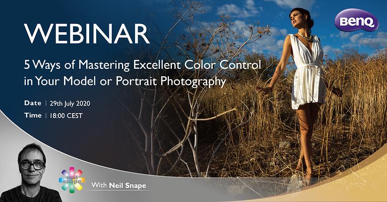 BenQ Webinar mastering color