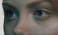 close up 100% eyes