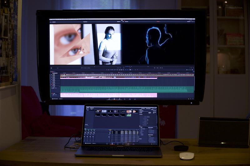BenQ SW320 utilisation montage video 2
